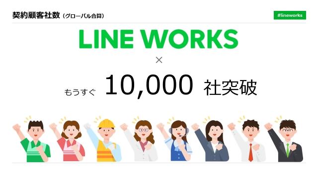 LINE WORKS 、契約企業数が約1万社へ。前年比7.8倍に成長 新たな事業戦略の第一弾としてマルケト、SAP・豆蔵と協業
